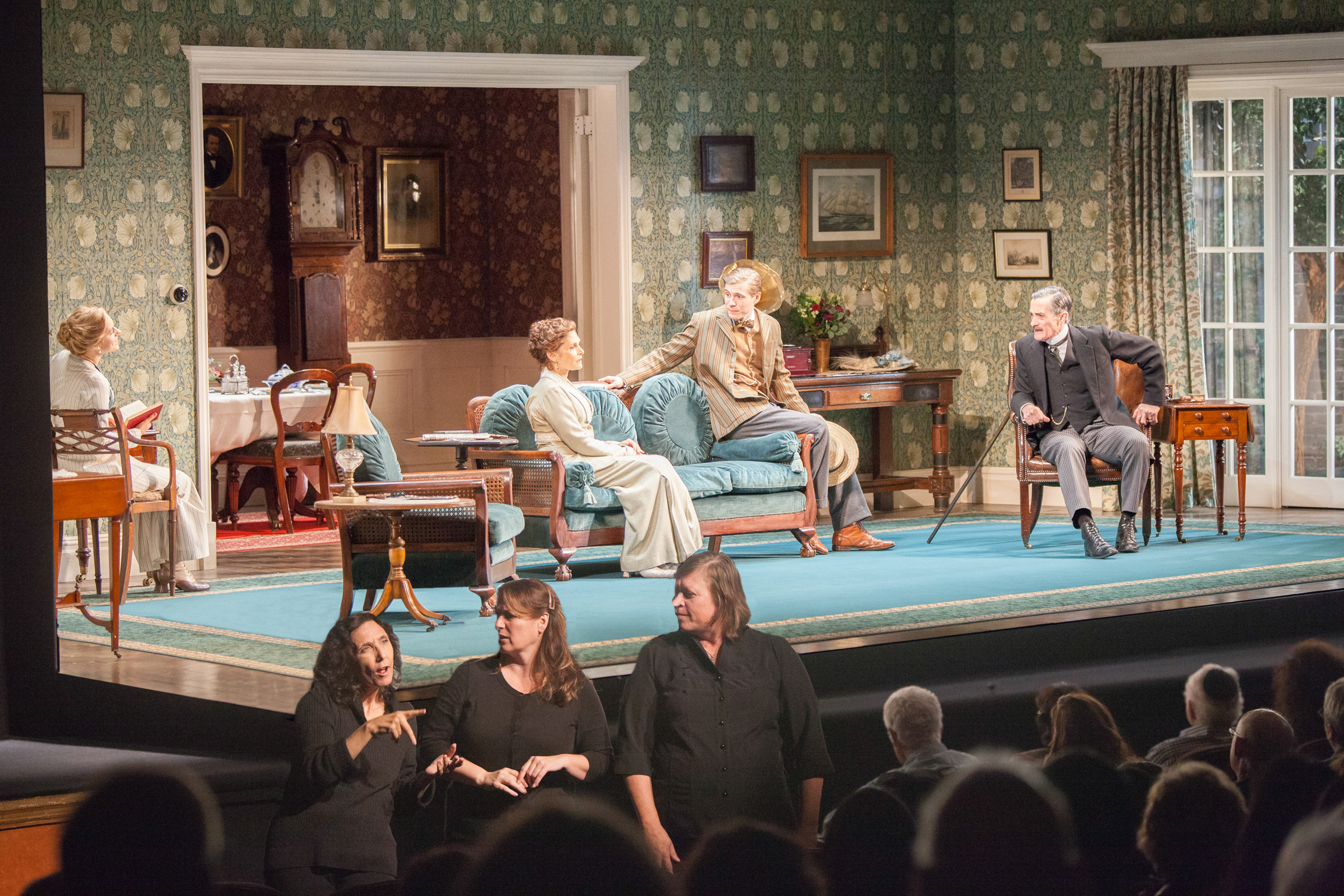 An ASL interpreted performance of The Winslow Boy by Roundabout Theatre.