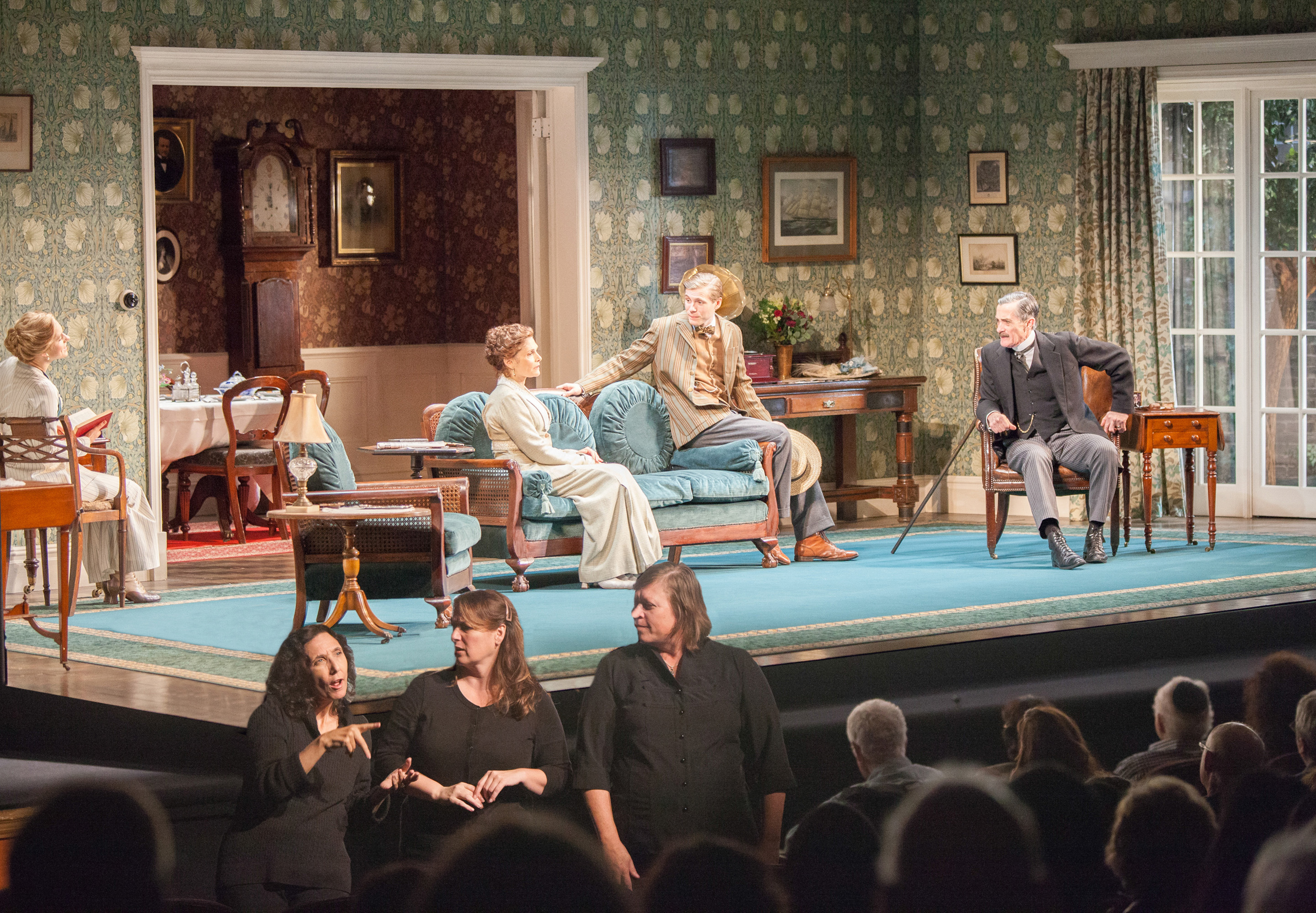 ASL interpretation of The Winslow Boy by Roundabout Theatre